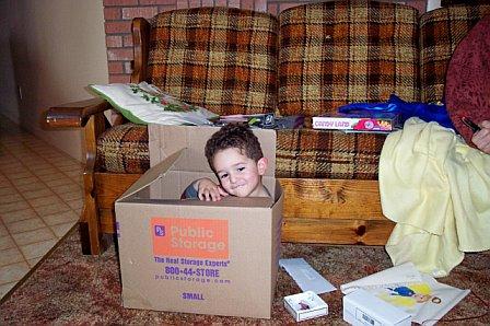 a box is more fun!